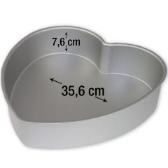 PME pekač srce za torte 35,6 cm, višina 7,6 cm