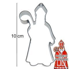Modelček Škof ali Sveti Miklavž 10 cm, pločevina
