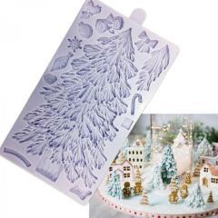 Silikonski Modelček Božična smreka