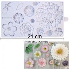 Silikonski Modelček čudovite rože