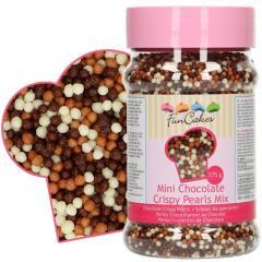 Hrustljave čokoladne MINI Perlice MIX, 2 mm