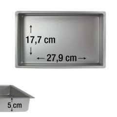 PME pravokotni pekač za biskvit 27,9 x 17,7 cm, višina 5 cm