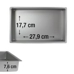 PME pravokotni pekač za biskvit 27,9 x 17,7 cm, višina 7,6 cm