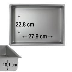 PME pravokotni pekač za biskvit 27,9 x 22,8 cm, višina 10,1 cm