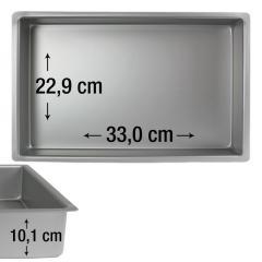 PME pravokotni pekač za biskvit 33,0 x 22,9 cm, višina 10,1 cm