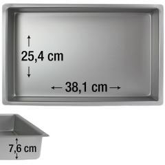 PME pravokotni pekač za biskvit 38,1 x 25,4 cm, višina 7,6 cm