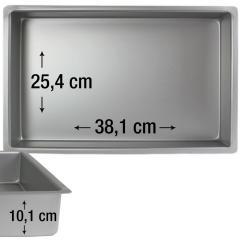 PME pravokotni pekač za biskvit 38,1 x 25,4 cm, višina 10,1 cm