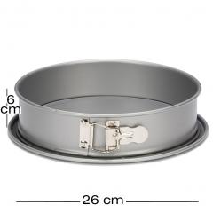 Obroč pekač z odstranljivim dnom Ø26 cm