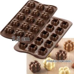 Silikomart silikonski pekač Čokoladna igra