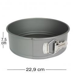 PME aluminijast pekač z odstranljivim dnom 22,9 cm, višina 7,5 cm