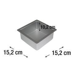 PME kvadraten pekač za torte 15,2 x 15,2 cm, višina 10,2 cm