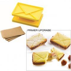 Silikomart modelček za piškotek sreče