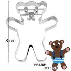 Modelček Medvedek, 8cm, rostfrei