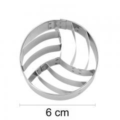 Modelček žoga za odbojko 6 cm, rostfrei