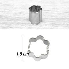 Mini modelček rožica 1,5 cm, rostfrei