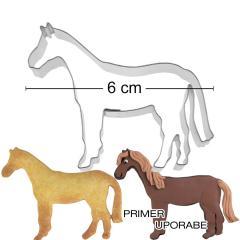 Modelček Konj 6 cm, rostfrei