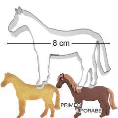 Modelček Konj 8 cm, rostfrei