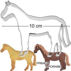 Modelček Konj 10 cm, rostfrei