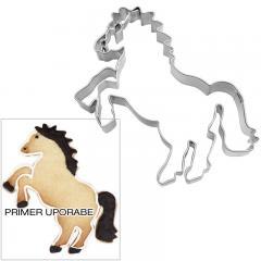 Modelček Dvigajoči se konj 8 cm, rostfrei