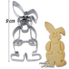 Modelček Zajec 9 cm, rostfrei