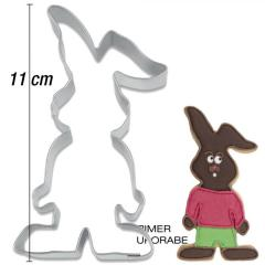 Modelček Zajček 11 cm, rosfrei