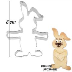 Modelček Igrivi zajček 8 cm, rostfrei