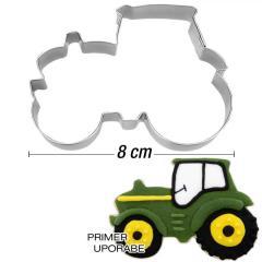 Modelček Traktor 8 cm, rostfrei