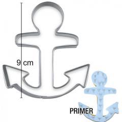 Modelček sidro 9 cm, rostfrei