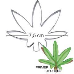 Modelček List vodne lilije 7,5cm, rostfrei