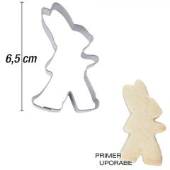 Modelček Hodeči zajček 6,5 cm, rostfrei
