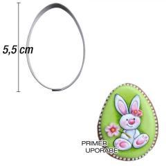 Modelček Jajček 5,5 cm, rostfrei