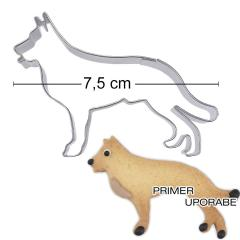 Modelček Nemški ovčar 7,5cm, rostfrei