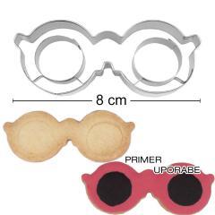 Modelček očala 8cm, rostfrei