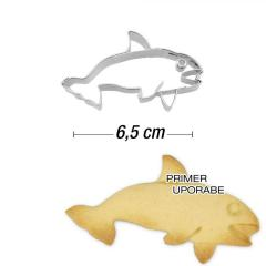 Modelček Orka 6,5 cm, rostfrei