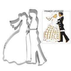 Modelček Poročni par 8 cm