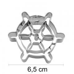 Modelček mornarsko krmilo 6,5 cm, rostfrei