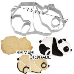 Modelček Geometrijska Panda 7,5 cm, rostfrei