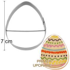 Modelček Jajček 7 cm, rostfrei