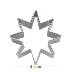 Modelček 8 kraka zvezdica 4,5 cm, rostfrei