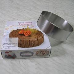 Nastavljiv obroč za peko OKROGEL - višina 7cm, rostfrei