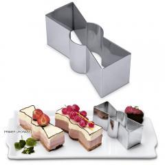 Model mašna za desert 1 kom, rostfrei