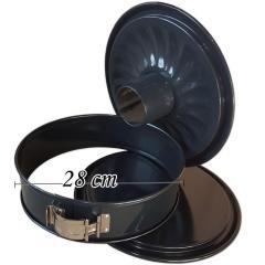 Pekač za najvišje zahteve z odstranljivim ravnim in cevnim dnom Ø 28 cm