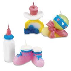 Svečke za rojstvo, 4 kosi