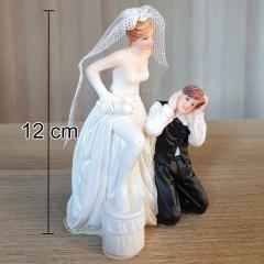 Poročni par, nevesta je glavna št.3