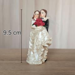 Poročni par s tančico št.10