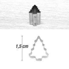Mini modelček smrekca 1,5 cm, rostfrei