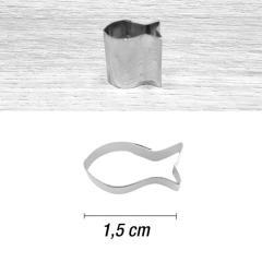 Mini modelček ribica 1,5 cm, rostfrei