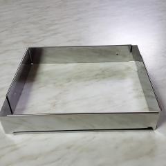 Nastavljiv obroč za peko ŠTIRIOGLAT 5cm