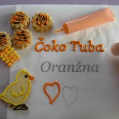ČOKO tuba - Oranžna