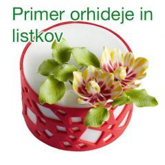 Modelček Orhideja 3 delni, plastika